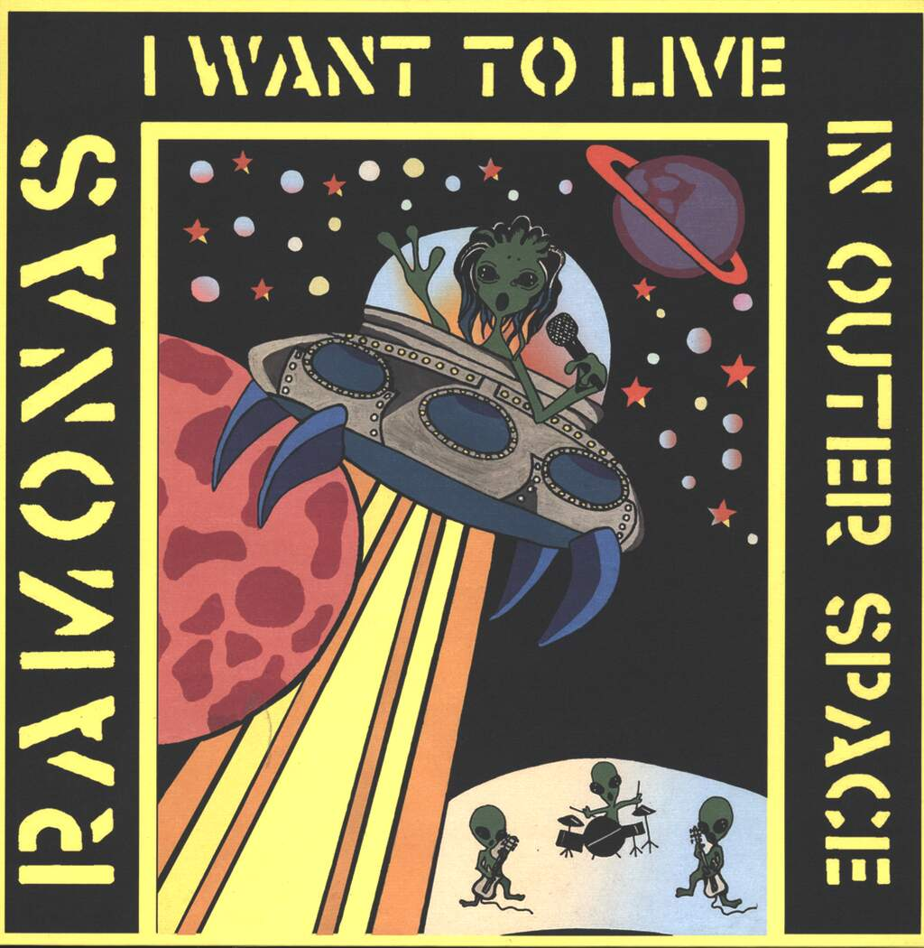 Ramonas: I Want To Live In Outer Space, Mini LP (Vinyl)