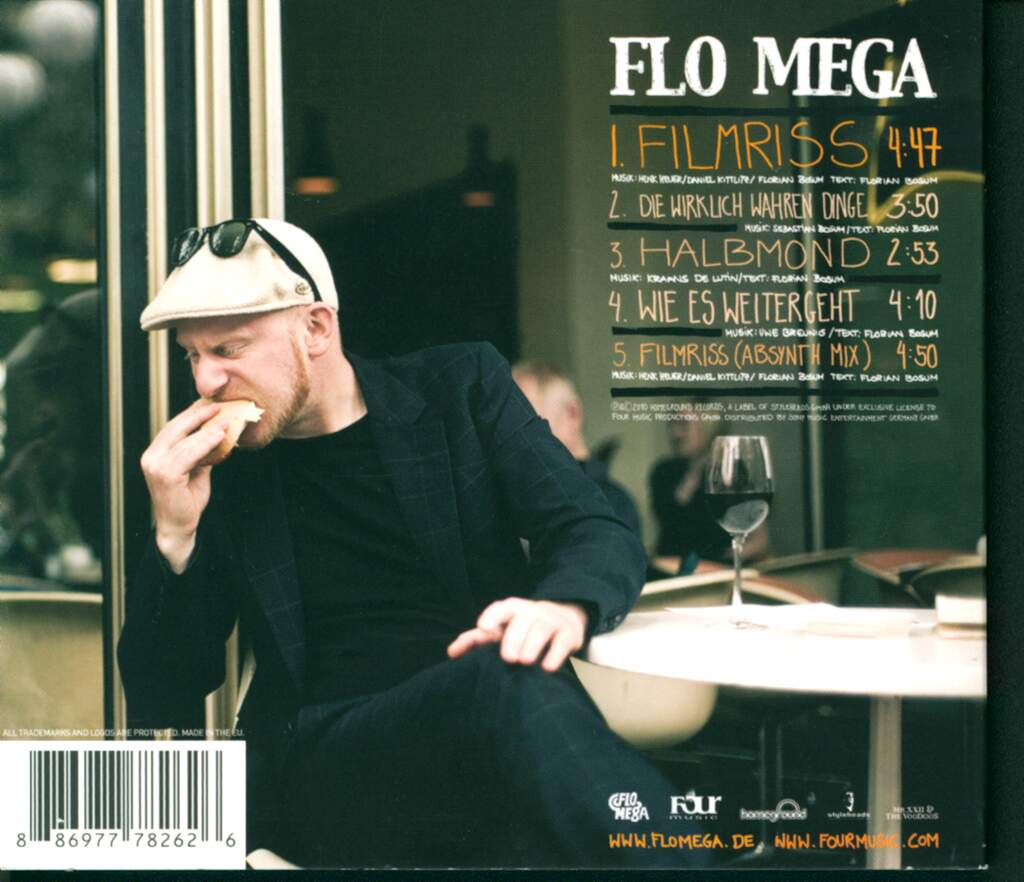 Flomega: Filmriss, Mini CD