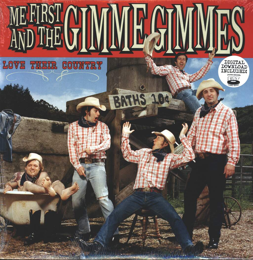 Me First & The Gimme Gimmes: Love Their Country, LP (Vinyl)