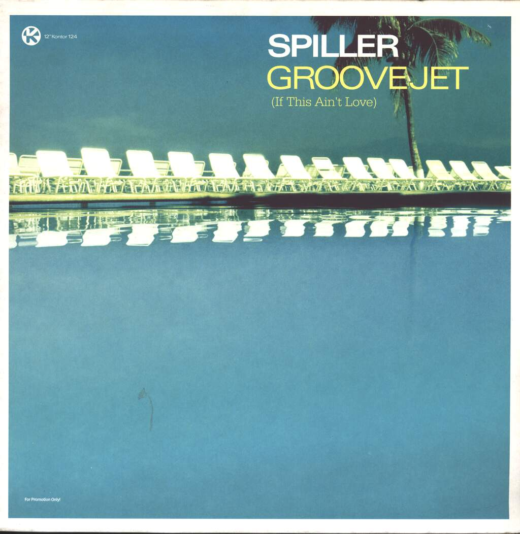 """Spiller: Groovejet (If This Ain't Love), 2×12"""" Maxi Single (Vinyl)"""