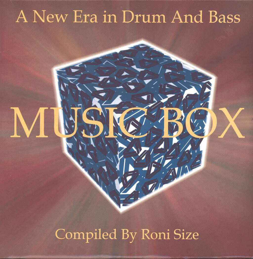 "Various: Music Box - A New Era In Drum And Bass, 3×12"" Maxi Single (Vinyl)"