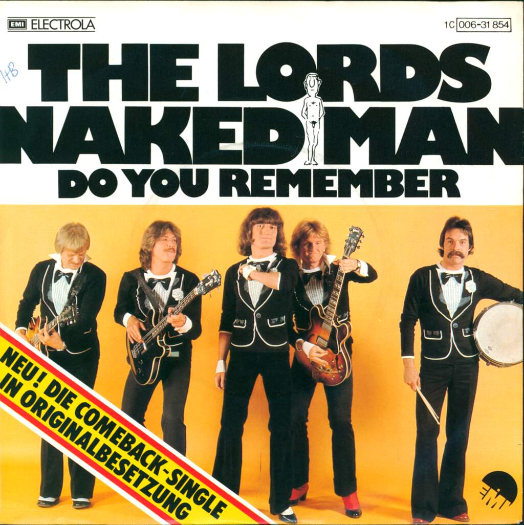 """The Lords: Naked Man, 7"""" Single (Vinyl)"""