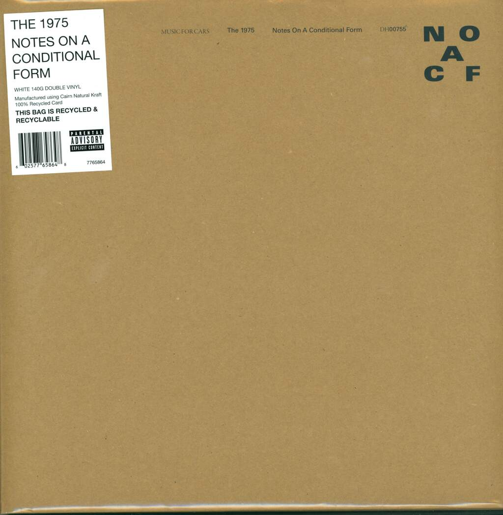 The 1975: Notes On A Conditional Form, 2×LP (Vinyl)