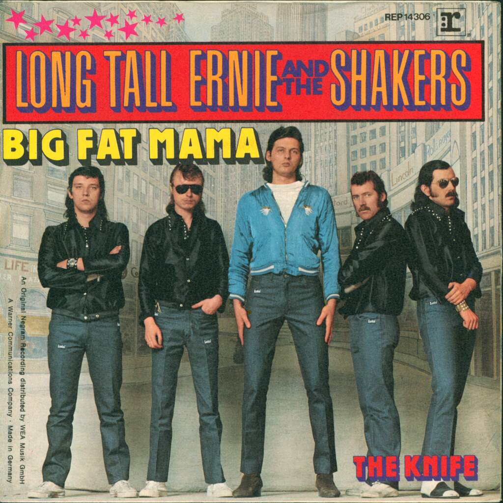 "Long Tall Ernie And The Shakers: Big Fat Mama, 7"" Single (Vinyl)"