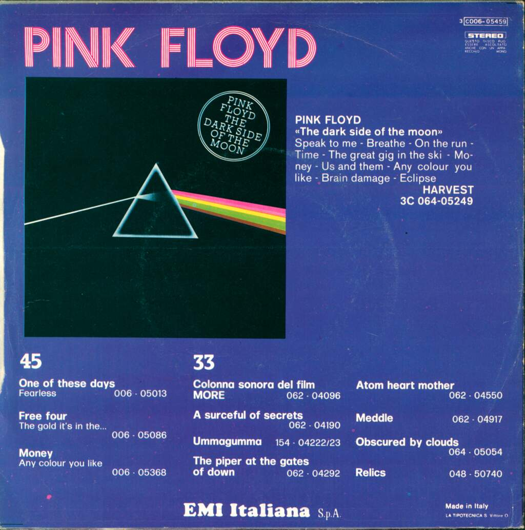 "Pink Floyd: Point Me At The Sky, 7"" Single (Vinyl)"