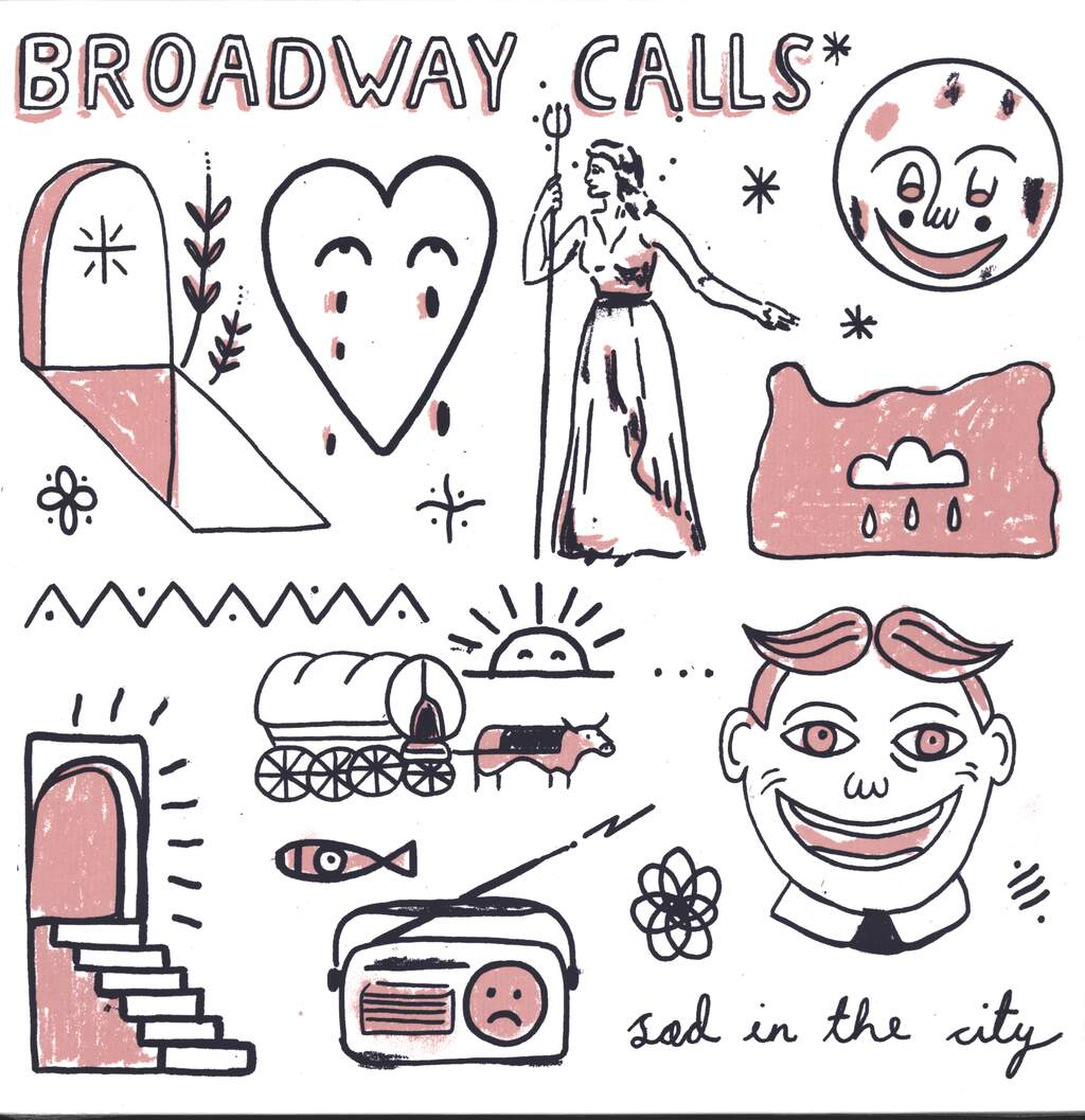 Broadway Calls: Sad In The City, LP (Vinyl)