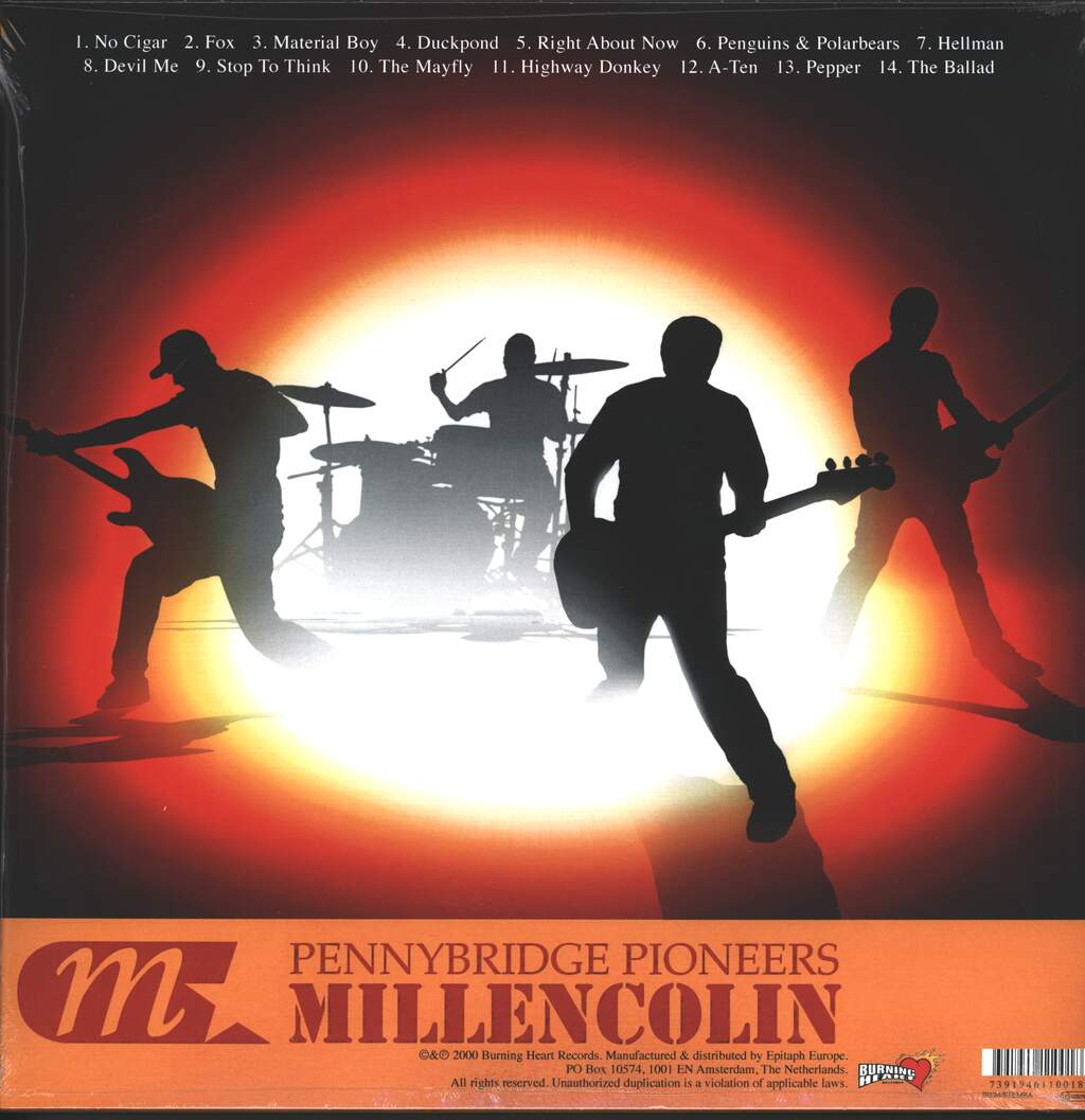 Millencolin: Pennybridge Pioneers, LP (Vinyl)