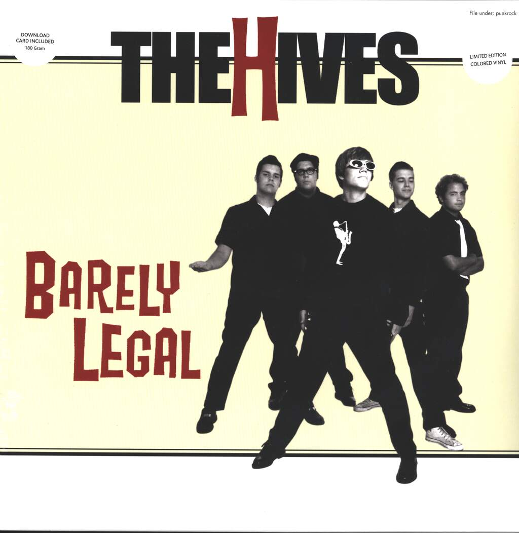 The Hives: Barely Legal, LP (Vinyl)