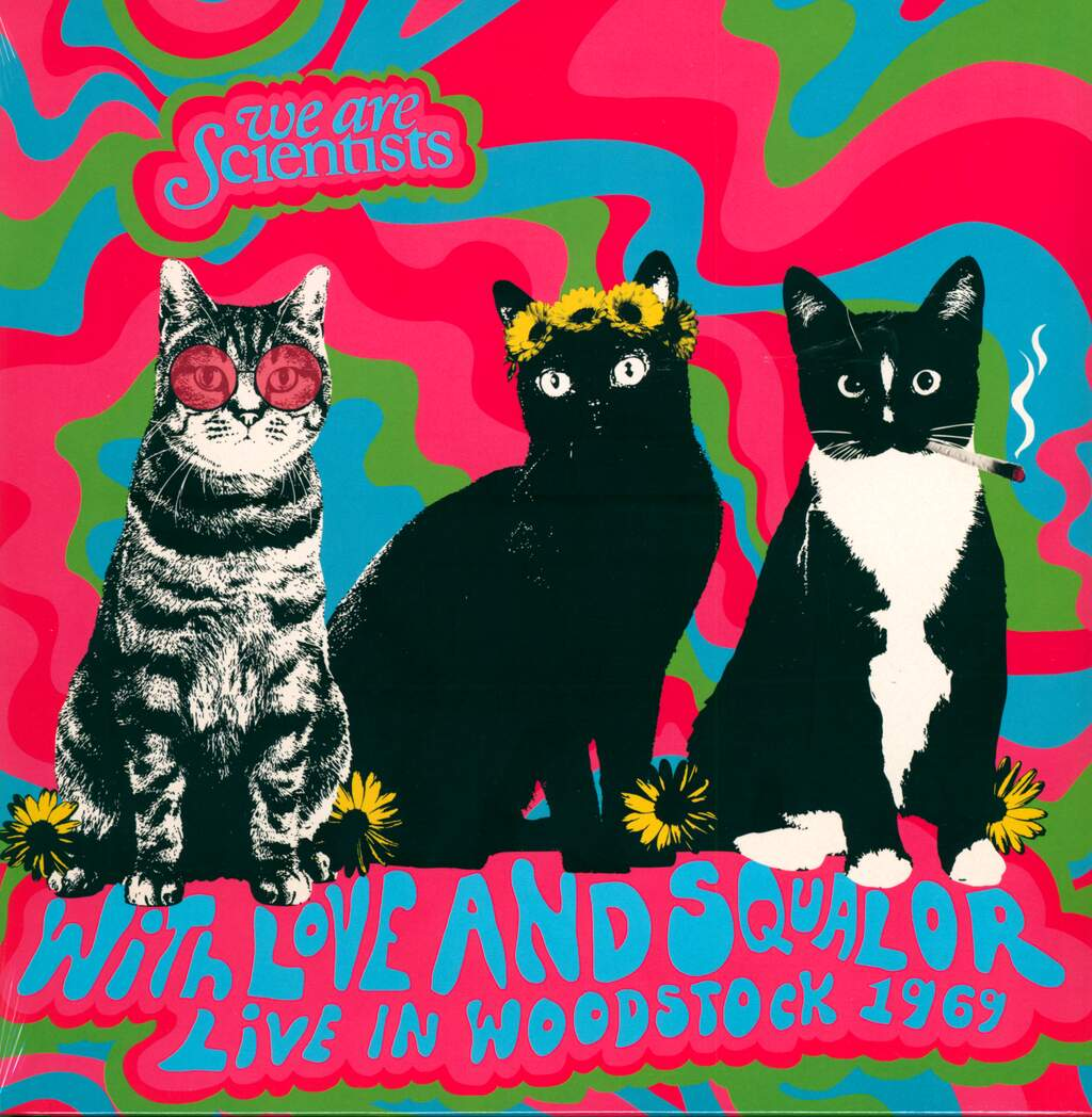 We Are Scientists: With Love And Squalor: Live In Woodstock 1969, LP (Vinyl)