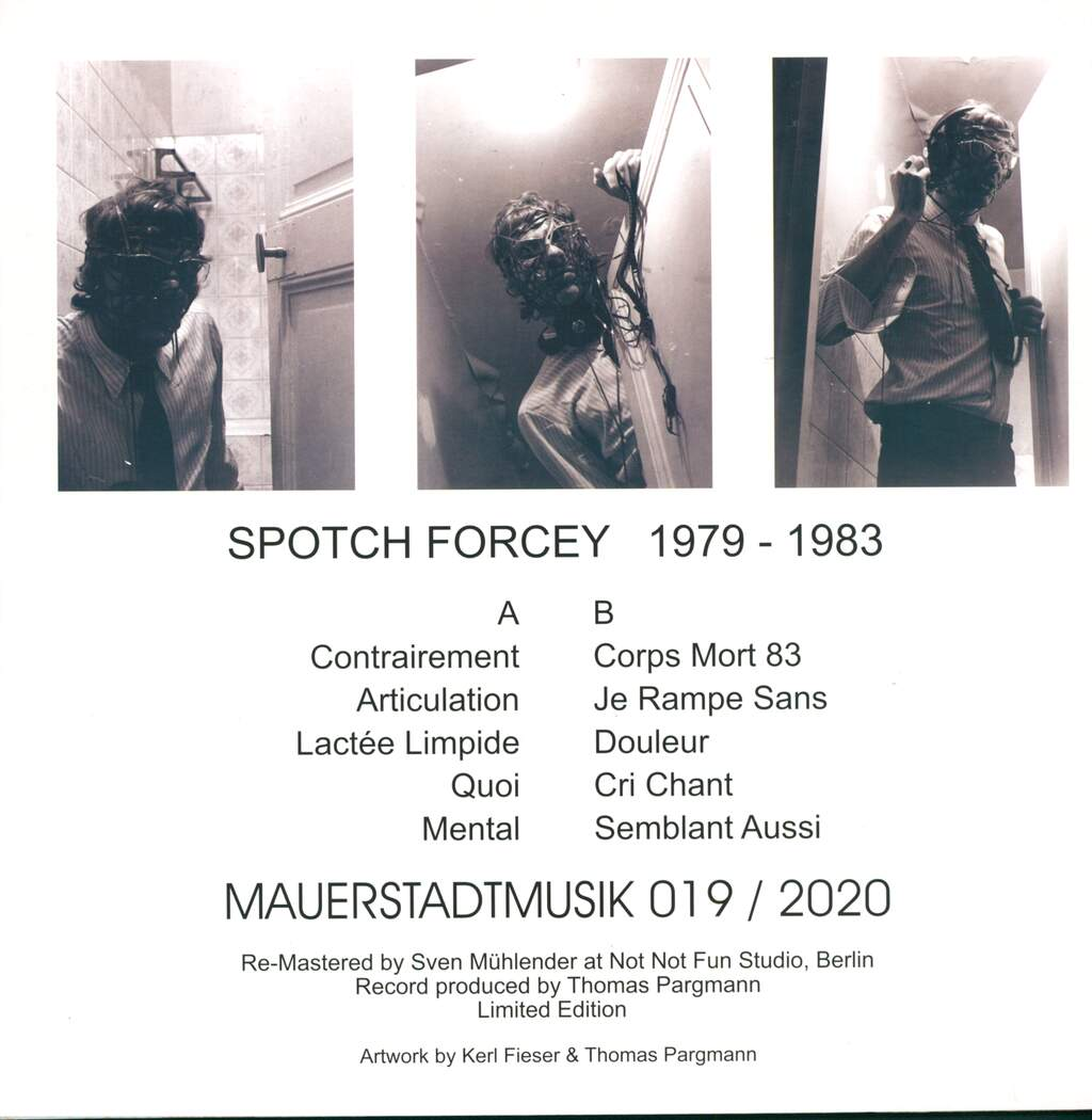 Spotch Forcey: 1979-1983, LP (Vinyl)