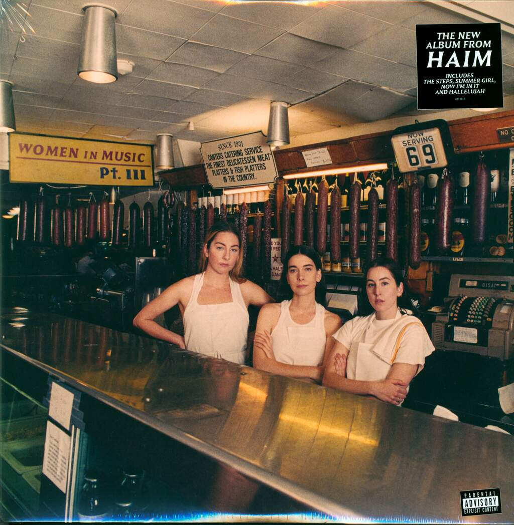 HAIM: Women In Music Pt. III, 2×LP (Vinyl)