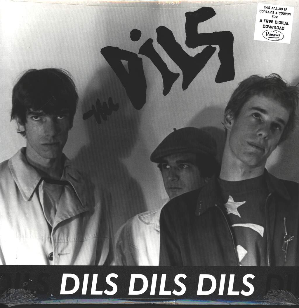The Dils: Dils Dils Dils, LP (Vinyl)