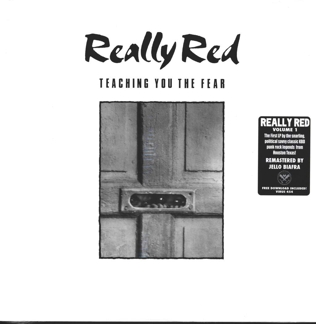Really Red: Teaching You The Fear, LP (Vinyl)