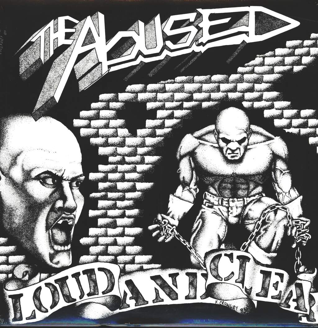 The Abused: Loud And Clear, LP (Vinyl)