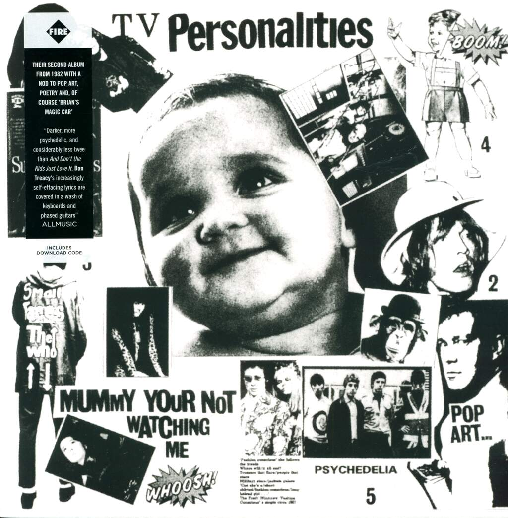 Television Personalities: Mummy Your Not Watching Me, LP (Vinyl)
