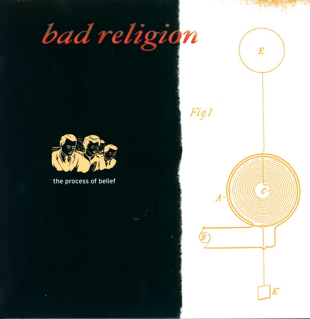 Bad Religion: The Process Of Belief, LP (Vinyl)