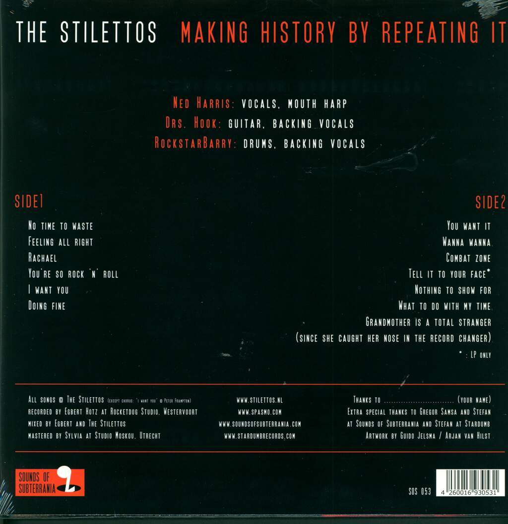 The Stilettos: Making History By Repeating It, LP (Vinyl)