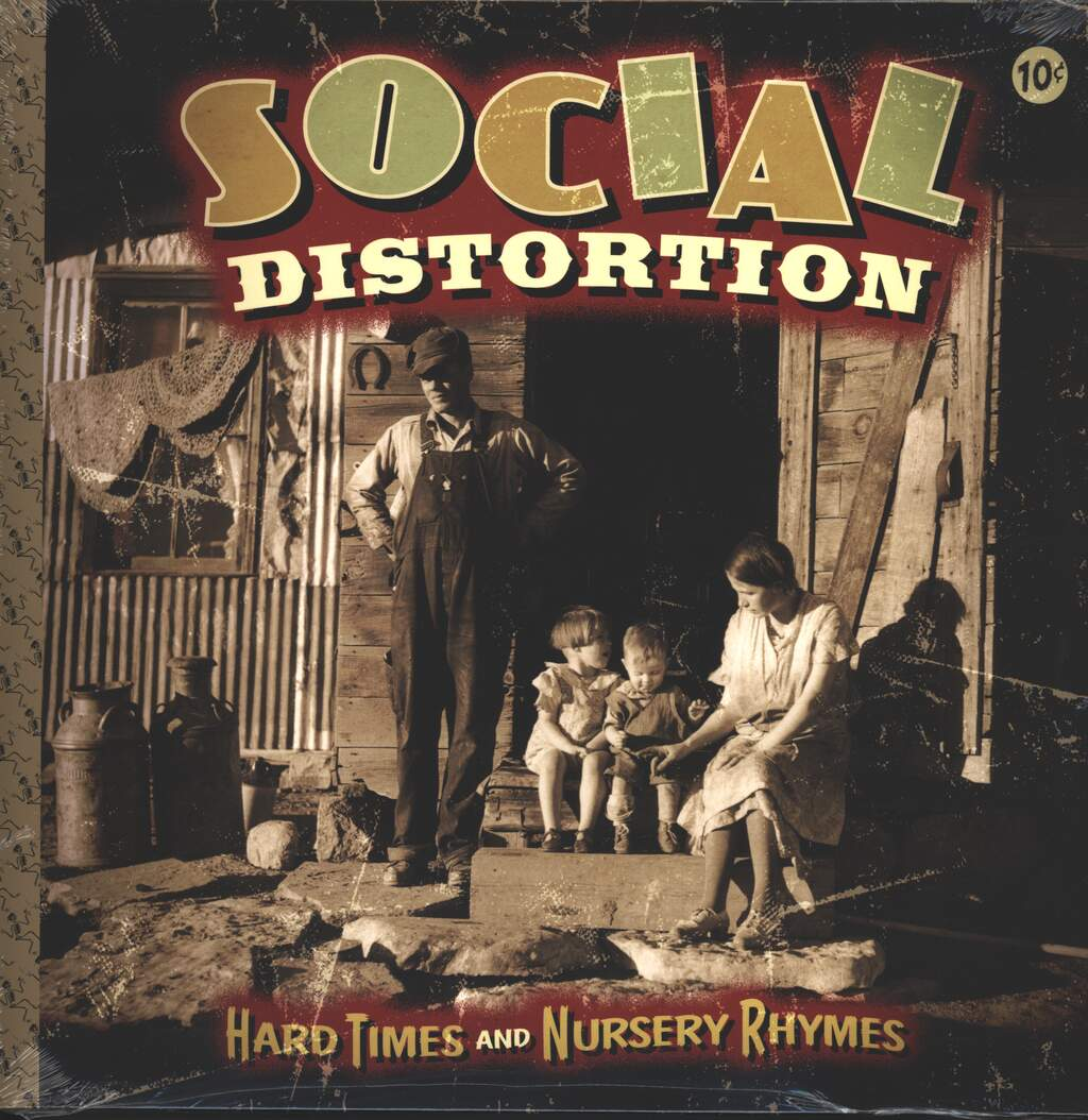 Social Distortion: Hard Times And Nursery Rhymes, 2×LP (Vinyl)