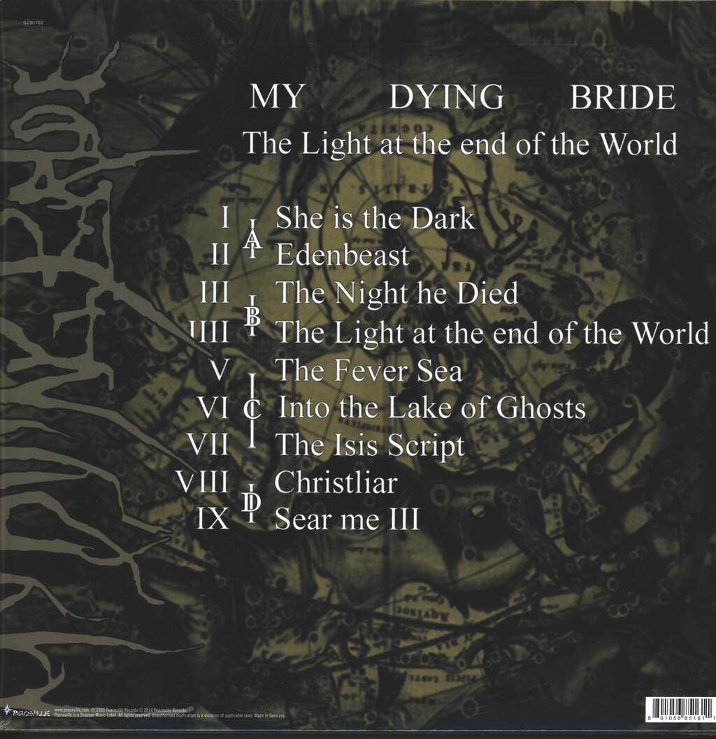 My Dying Bride: The Light At The End Of The World, 2×LP (Vinyl)