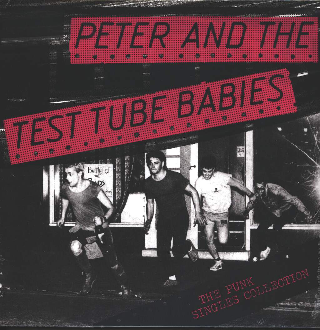 Peter And The Test Tube Babies: The Punk Singles Collection, LP (Vinyl)