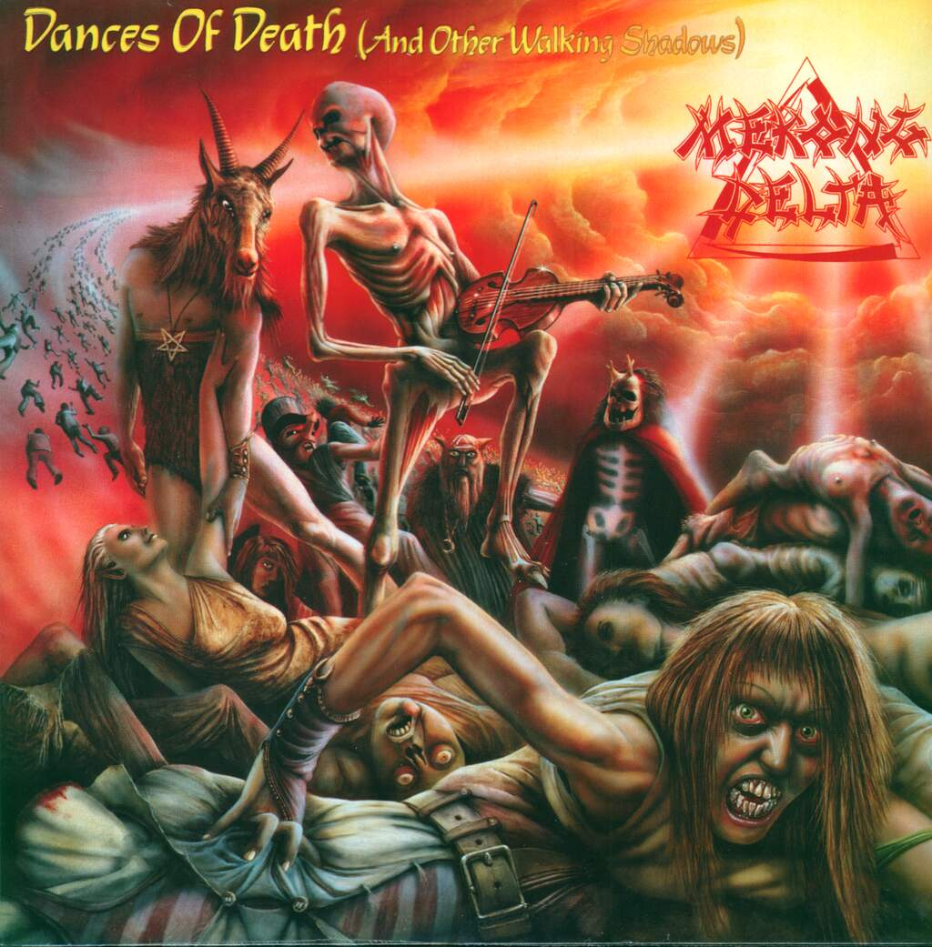 Mekong Delta: Dances Of Death (And Other Walking Shadows), LP (Vinyl)