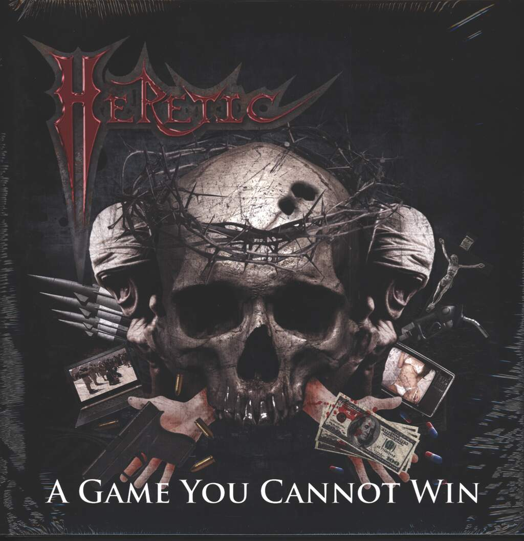 Heretic: A Game You Cannot Win, 2×LP (Vinyl)