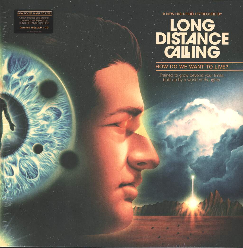 Long Distance Calling: How Do We Want To Live?, 2×LP (Vinyl)