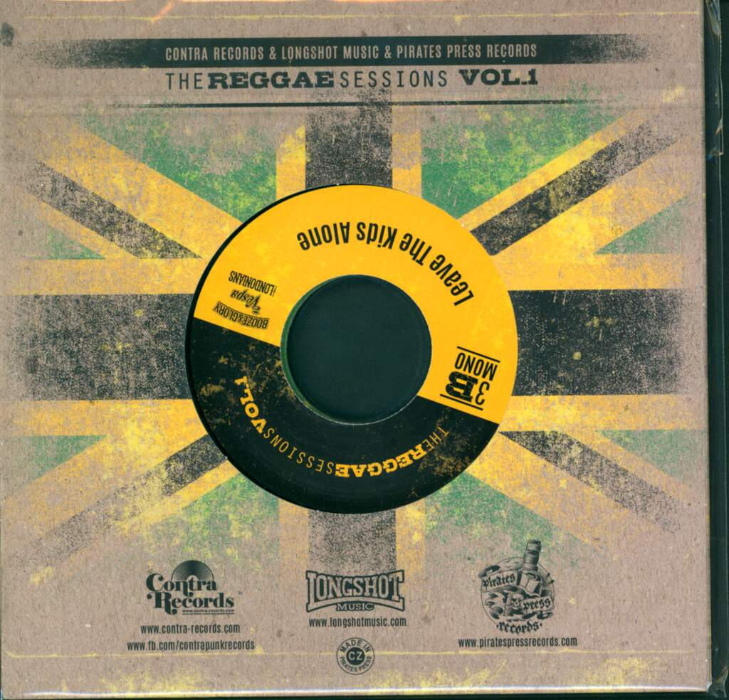 "Booze & Glory: The Reggae Sessions Vol. 1, 3×7"" Single (Vinyl)"