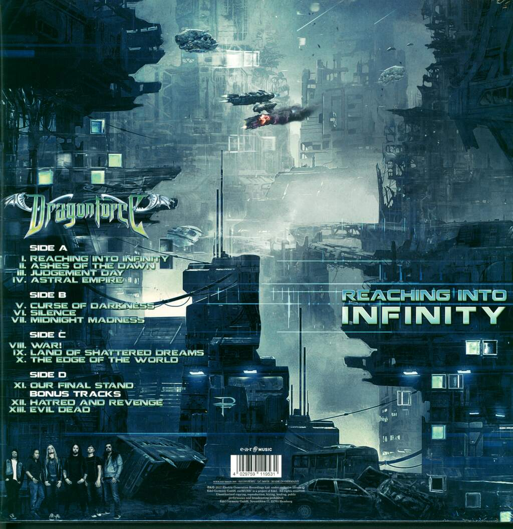Dragonforce: Reaching Into Infinity, 2×LP (Vinyl)