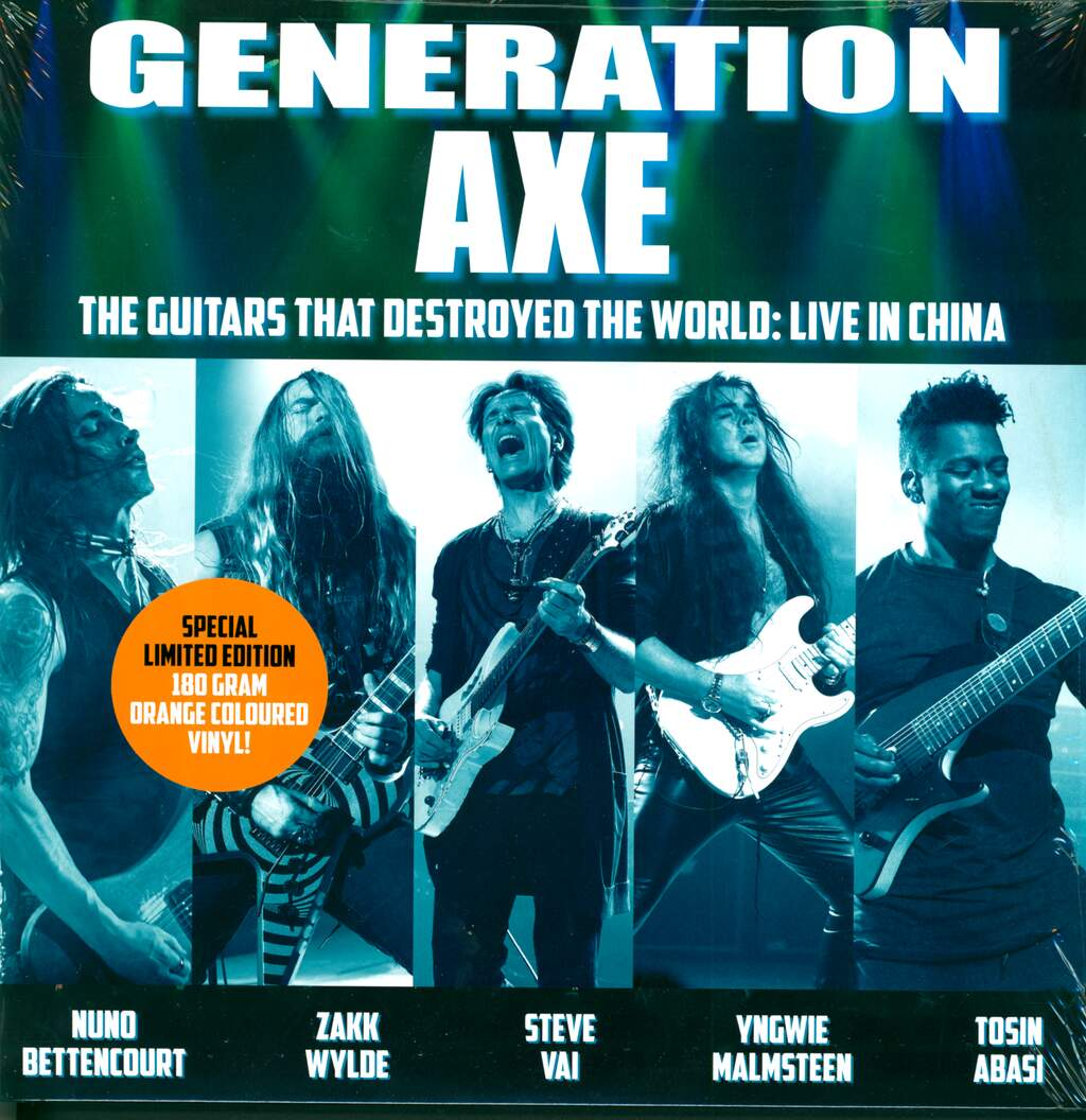 Generation Axe: The Guitars That Destroyed The World: Live In China, 2×LP (Vinyl)
