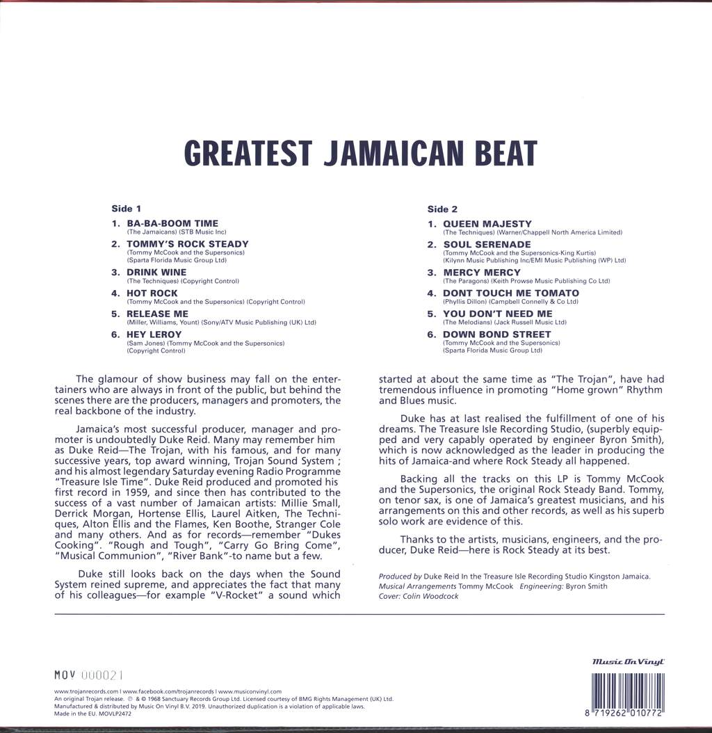 Various: Greatest Jamaican Beat, LP (Vinyl)