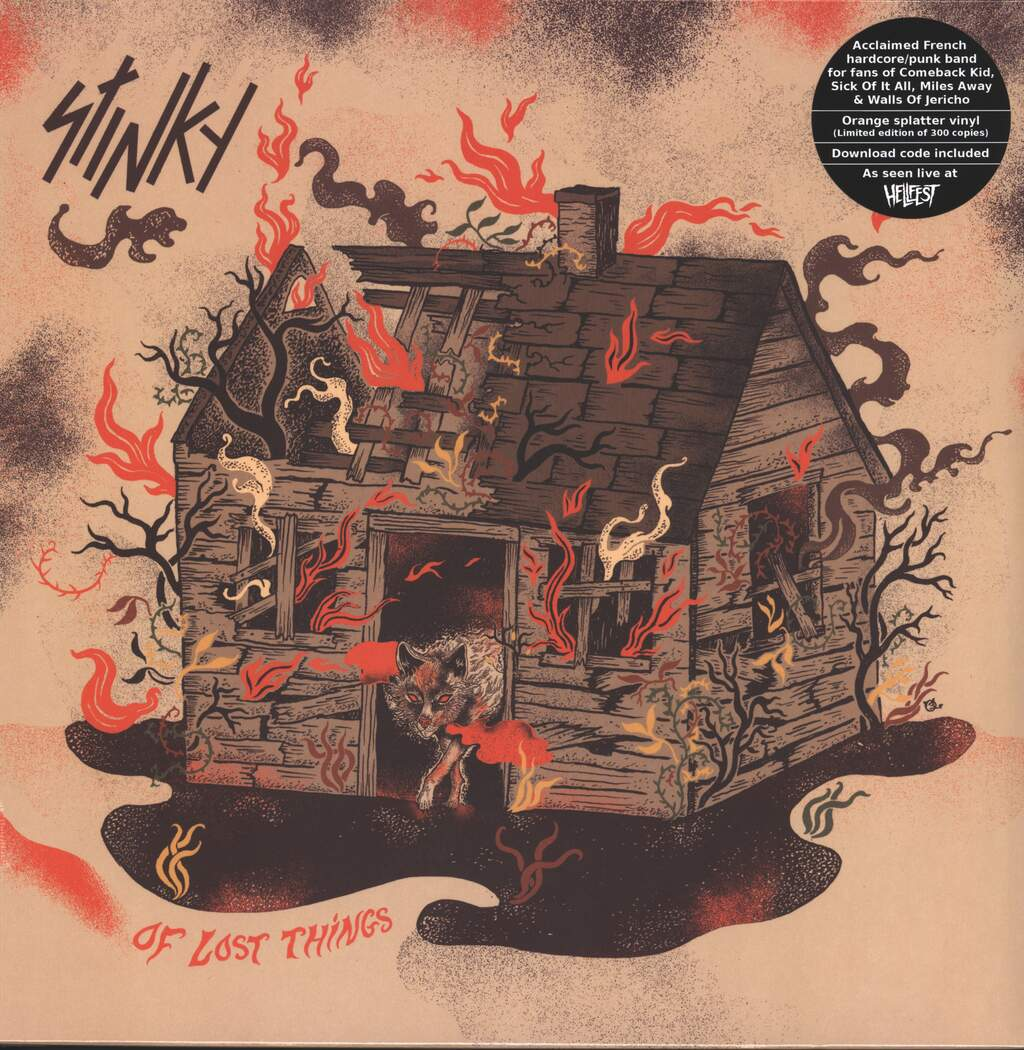 Stinky: Of Lost Things, LP (Vinyl)