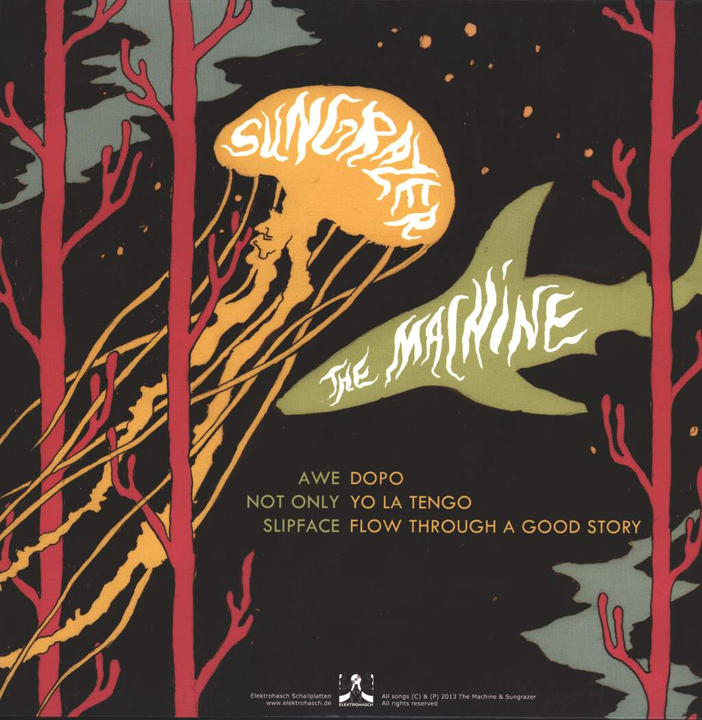 The Machine: The Machine & Sungrazer, LP (Vinyl)