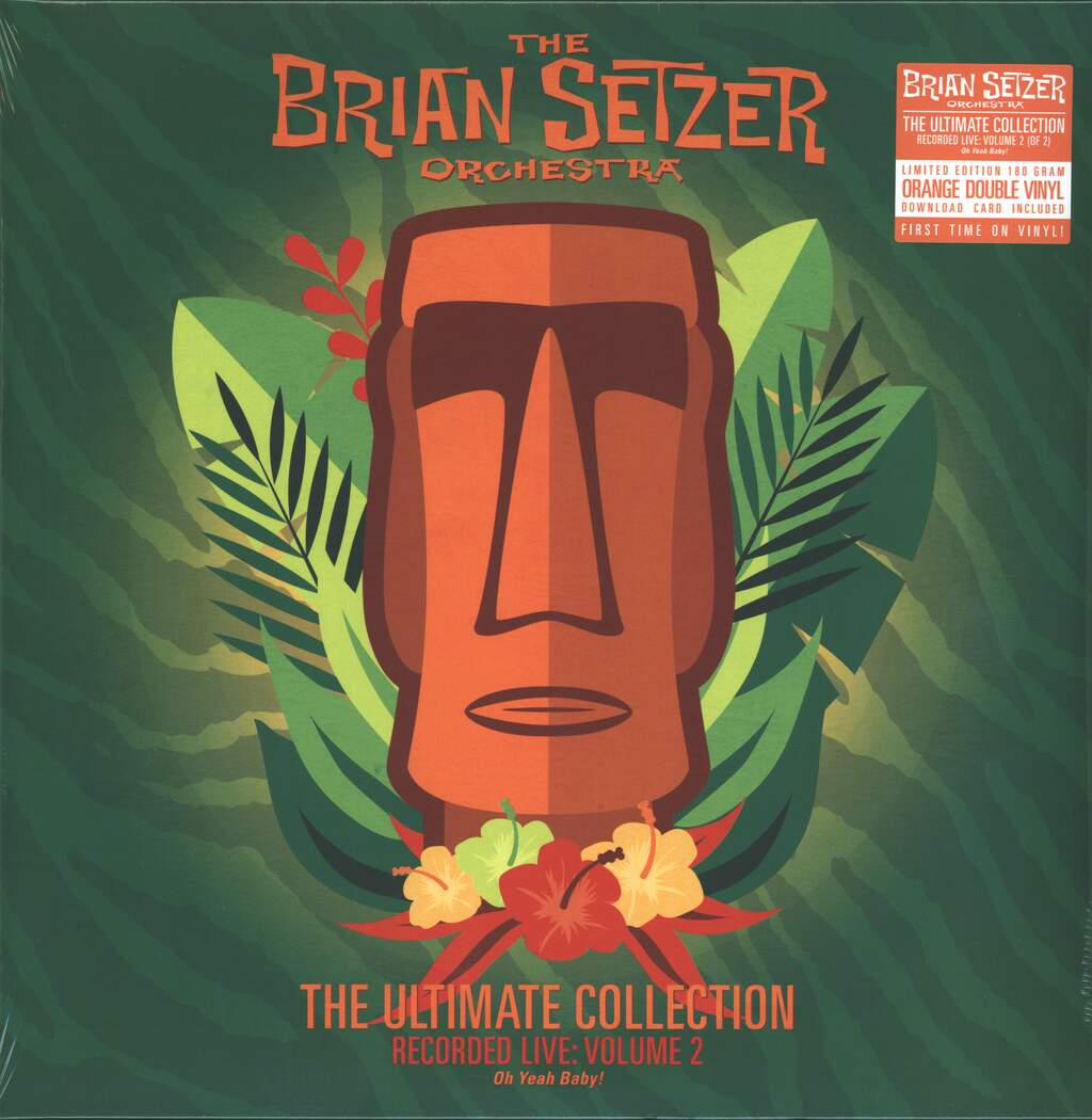 Brian Setzer Orchestra: The Ultimate Collection Recorded Live Volume 2, 2×LP (Vinyl)
