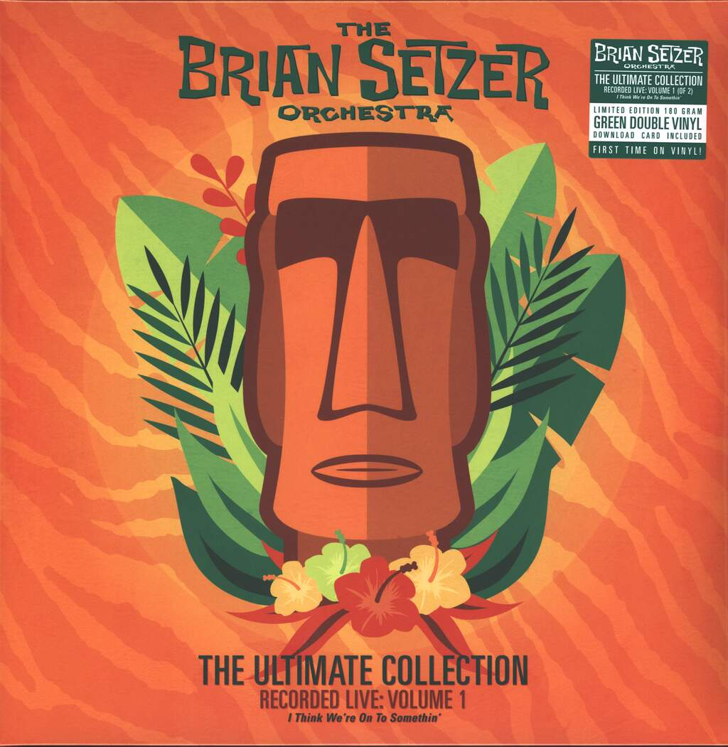 Brian Setzer Orchestra: The Ultimate Collection Recorded Live : Volume 1, 2×LP (Vinyl)