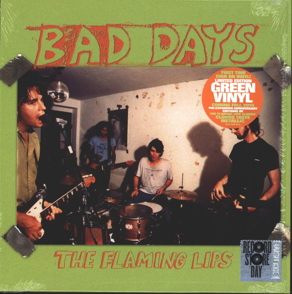 """The Flaming Lips: Bad Days, 10"""" Vinyl EP"""