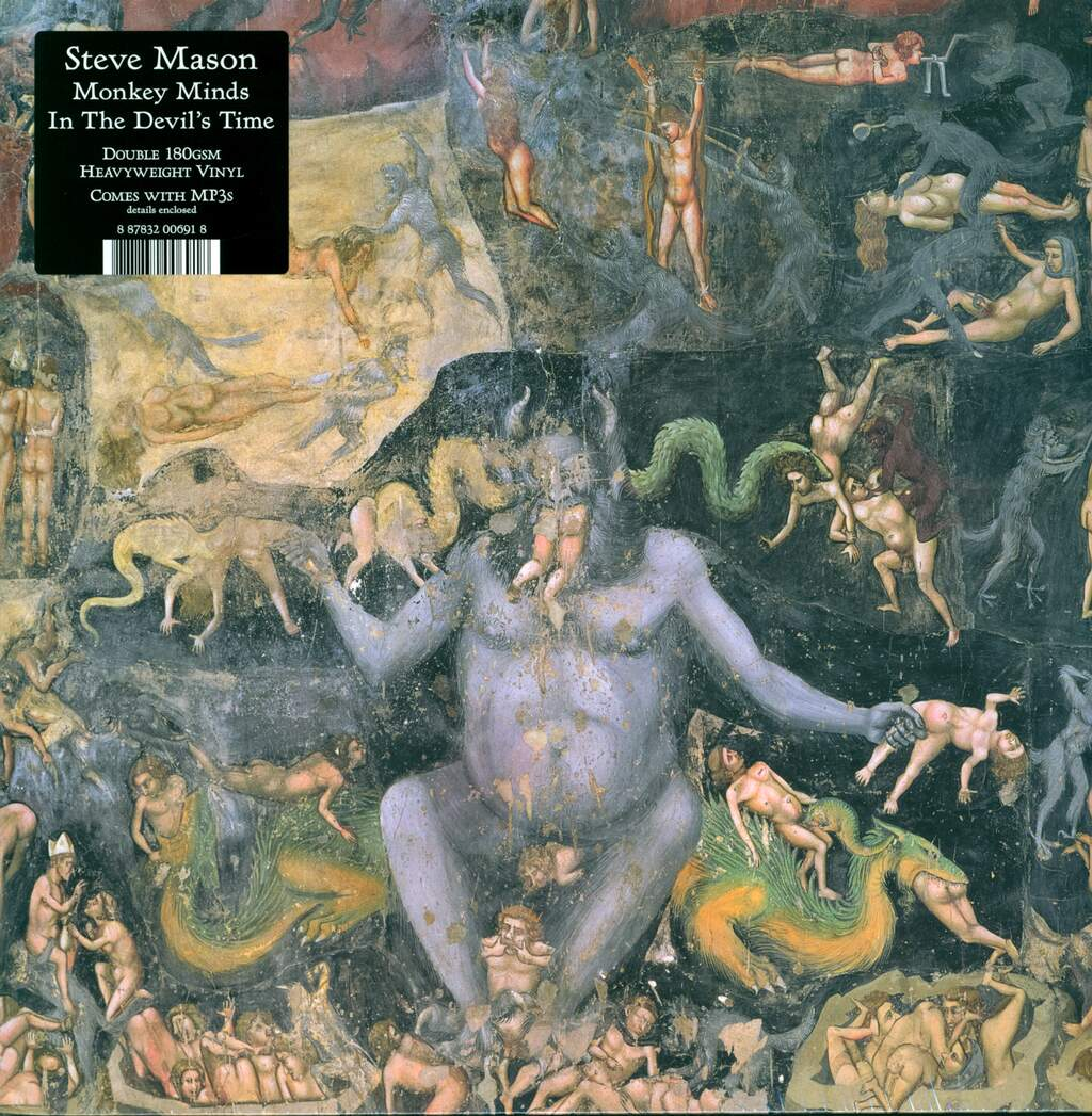Steve Mason: Monkey Minds In The Devil's Time, 2×LP (Vinyl)