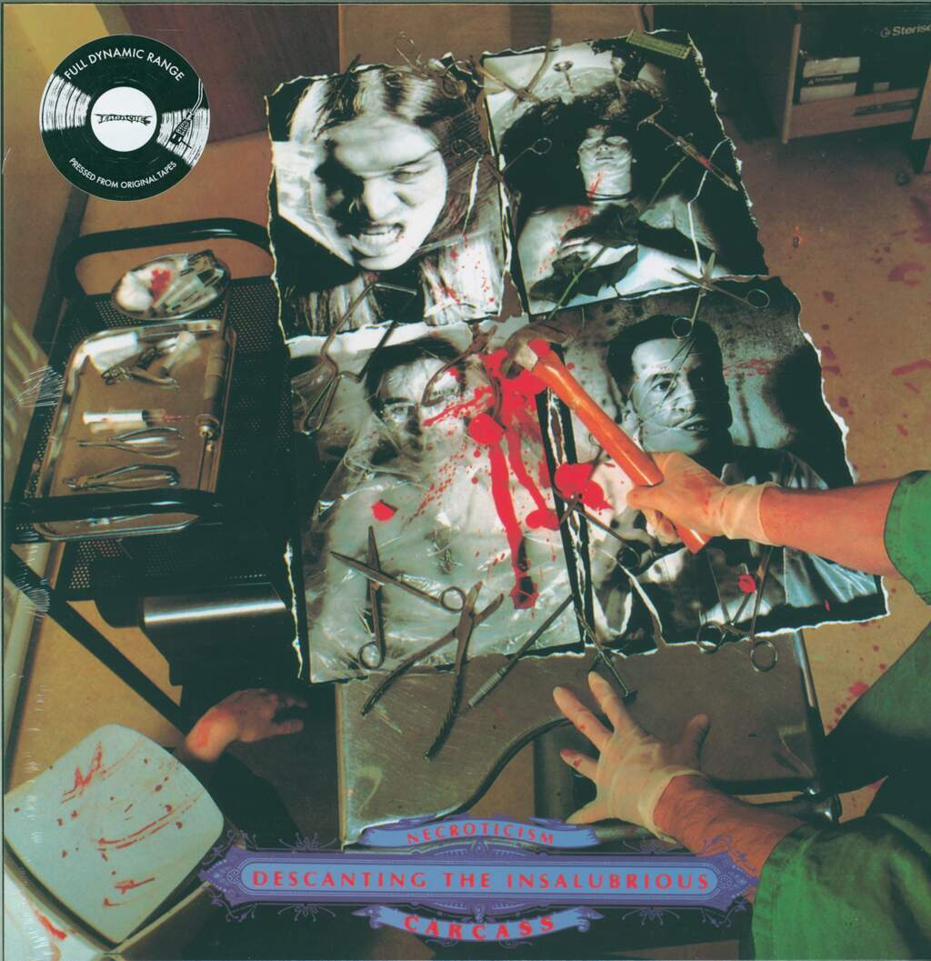 Carcass: Necroticism - Descanting The Insalubrious, LP (Vinyl)