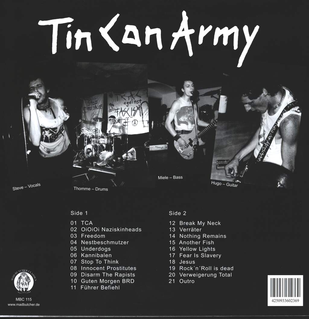 Tin Can Army: 1982-1987, LP (Vinyl)