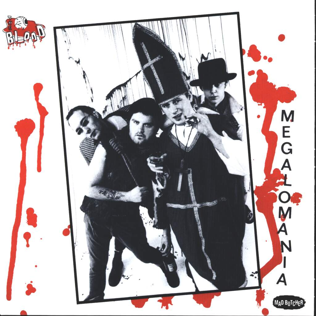 "The Blood: Megalomania, 7"" Single (Vinyl)"
