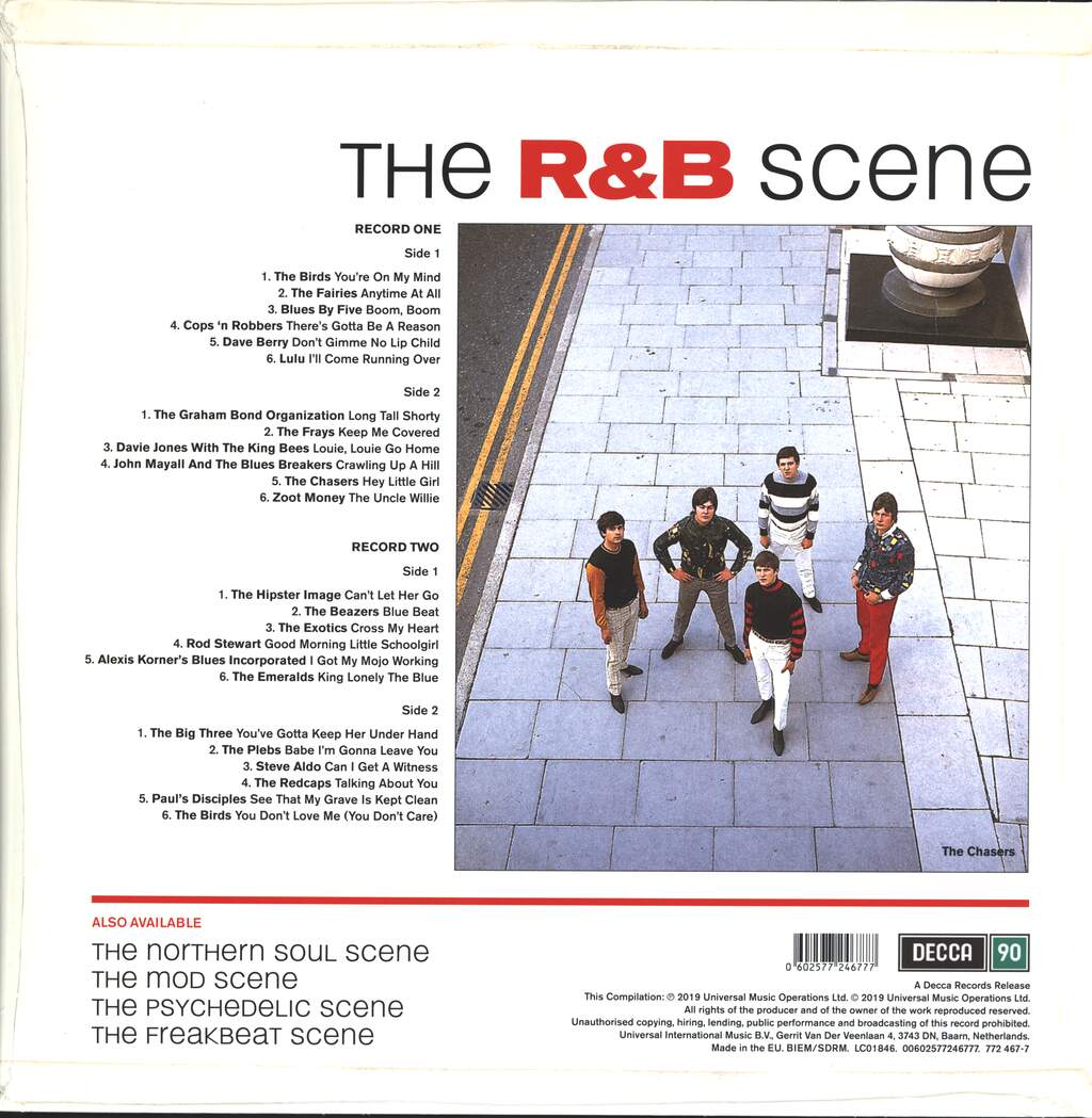 Various: The R&B Scene, 2×LP (Vinyl)