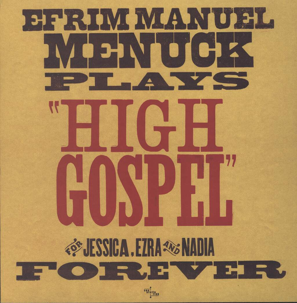 Efrim Menuck: High Gospel, LP (Vinyl)