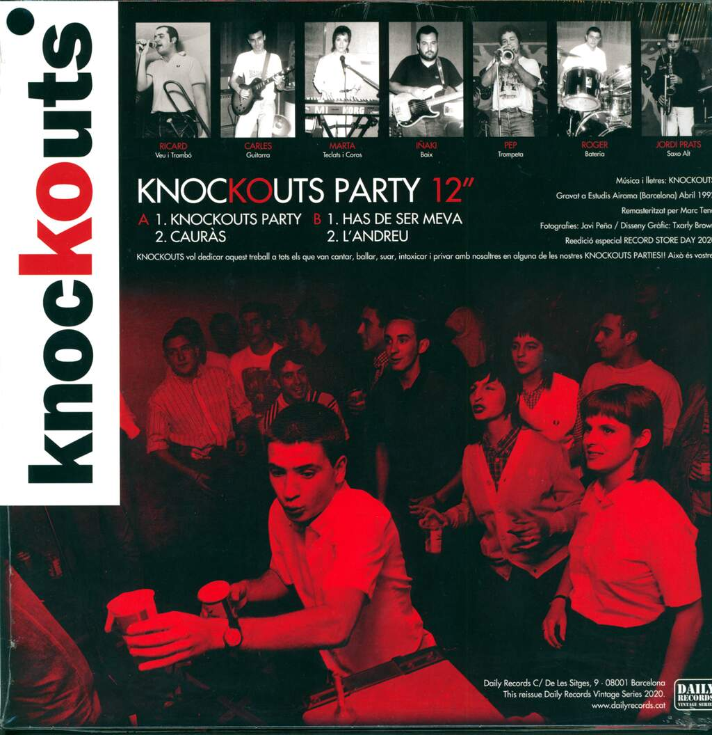"Knockouts: Knockouts Party, 12"" Maxi Single (Vinyl)"