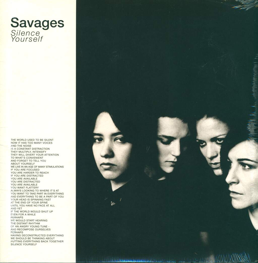 Savages: Silence Yourself, LP (Vinyl)