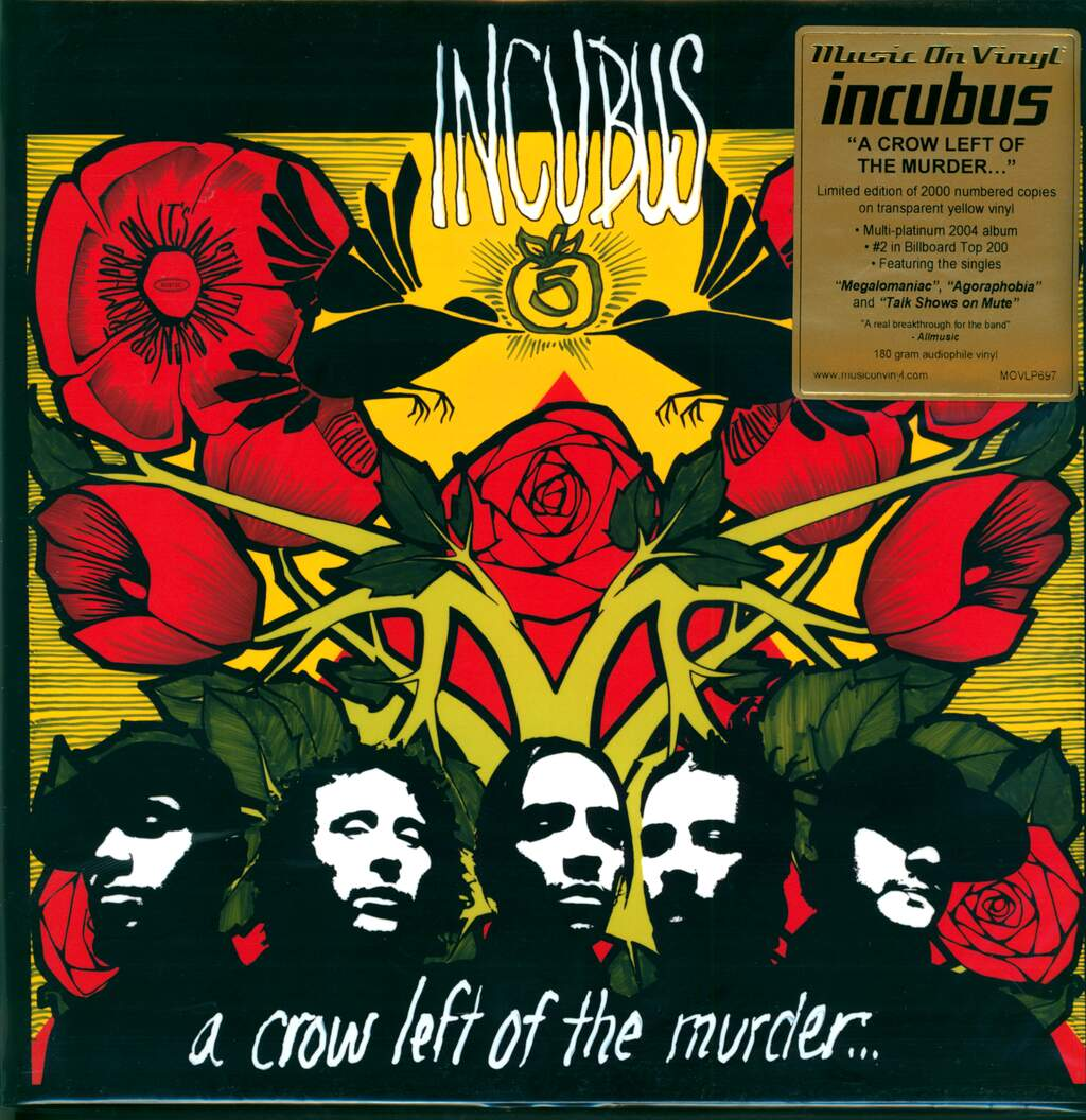 Incubus: A Crow Left Of The Murder..., 2×LP (Vinyl)