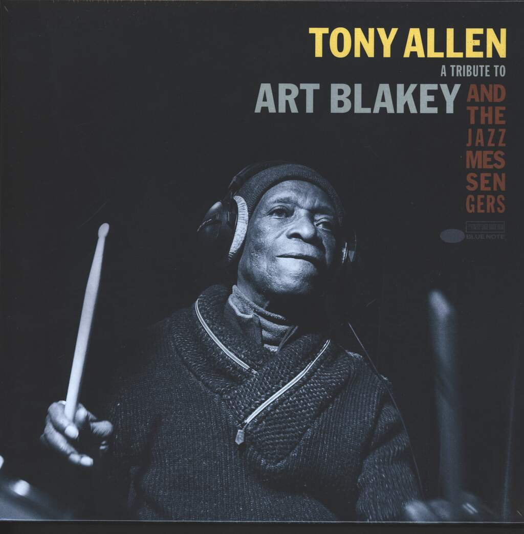 "Tony Allen: A Tribute To Art Blakey And The Jazz Messengers, 10"" Vinyl EP"