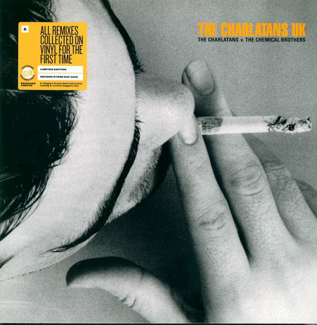 """The Charlatans: The Charlatans V. The Chemical Brothers, 12"""" Maxi Single (Vinyl)"""