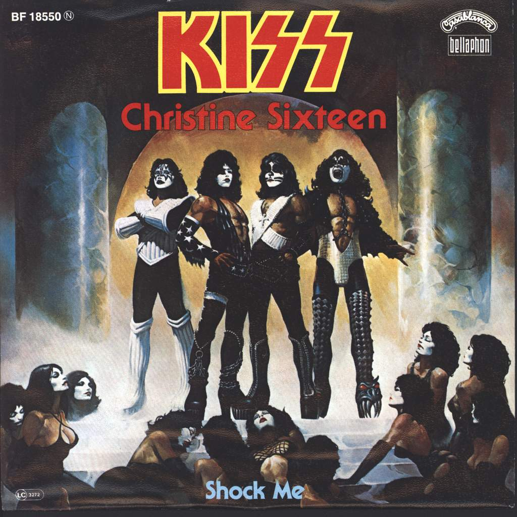 "Kiss: Christine Sixteen, 7"" Single (Vinyl)"