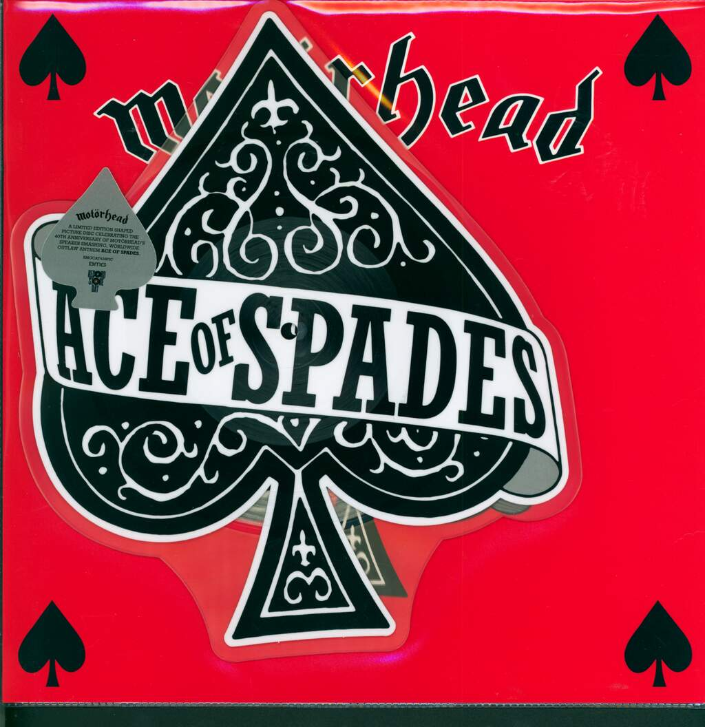 "Motörhead: Ace Of Spades / Dirty Love, 10"" Vinyl EP"