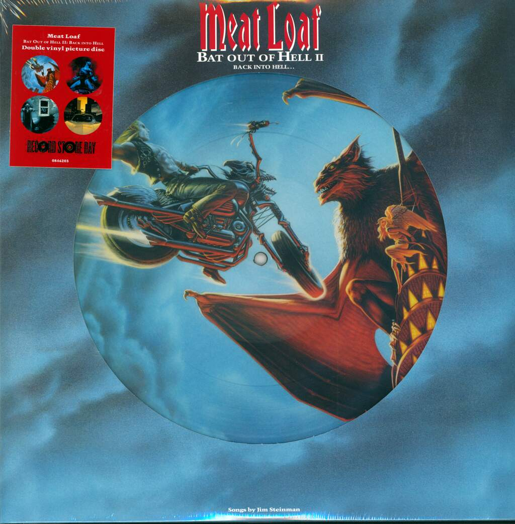 Meat Loaf: Bat Out Of Hell II: Back Into Hell, 2×LP (Vinyl)